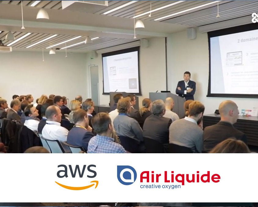 AWS & Air Liquide at the service of a secure health data system