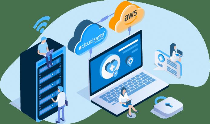 Cloud Santé Hybride - HDS
