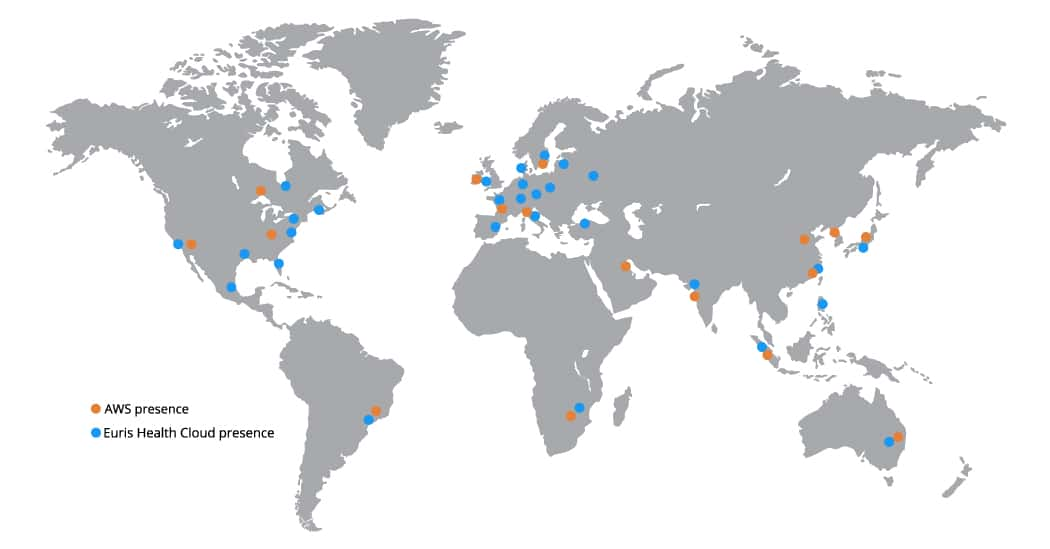 AWS global coverage