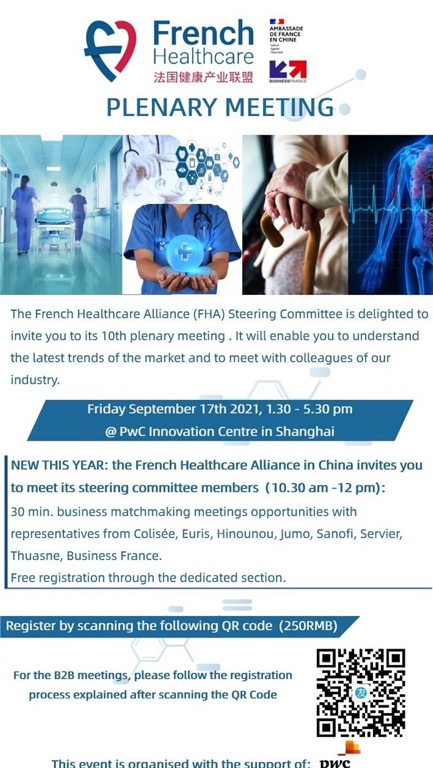french healthcare plenary meeting
